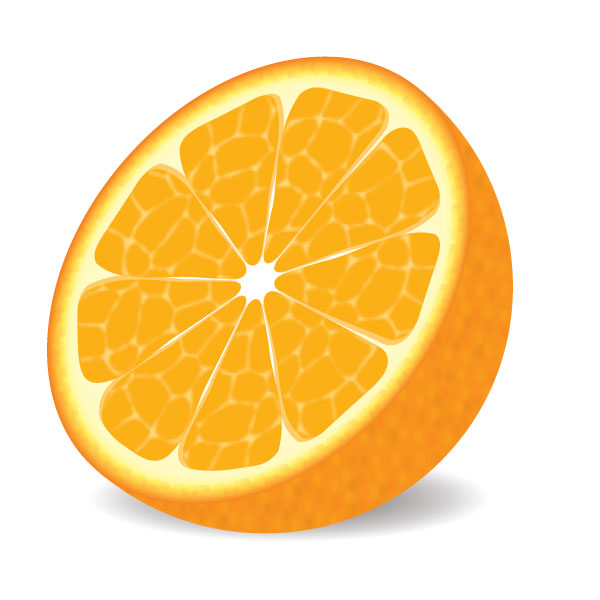 18 Orange Vector Objects Images
