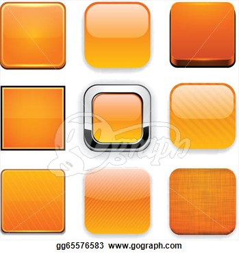 Orange Square App Icon