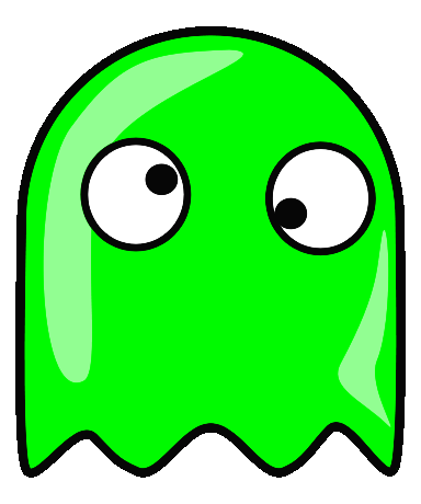 Pac Man Ghost Clip Art