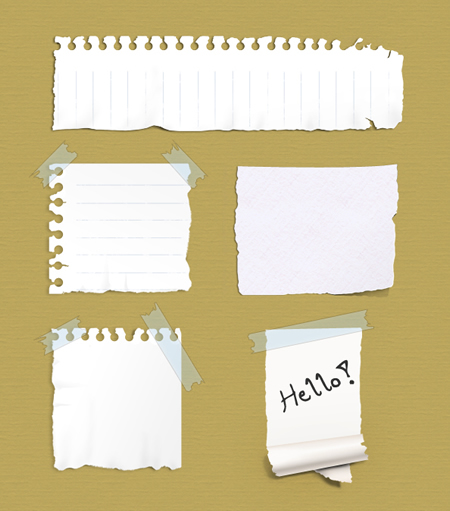 Paper Notes Psd Free