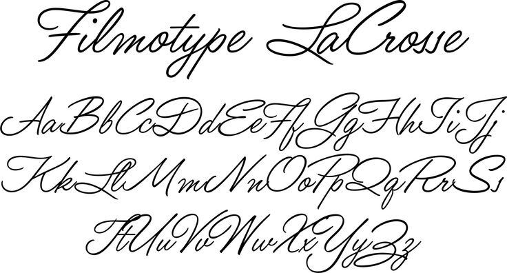 Pretty Cursive Handwriting Font