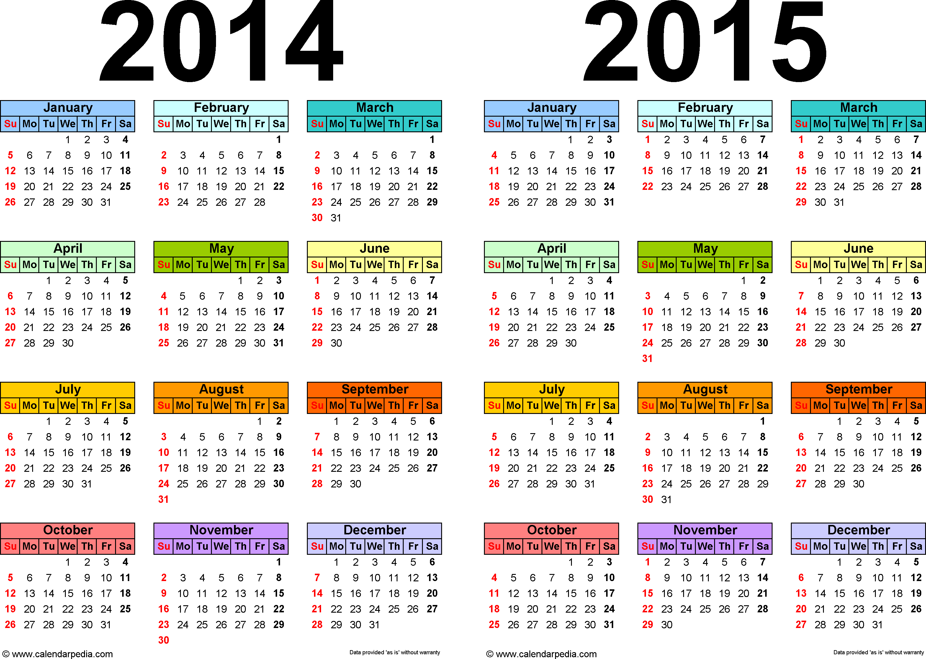 16 blank calendar template 2014 2015 images august 2015 for Fillable calendar template 2014