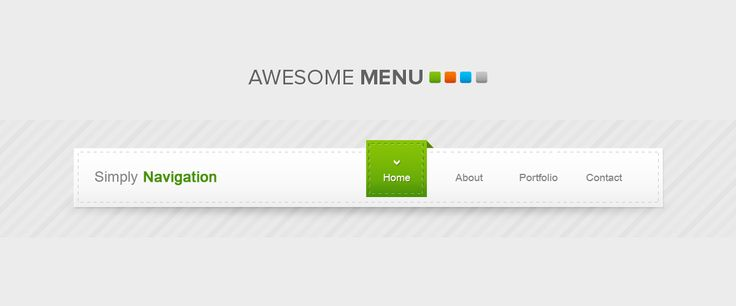 9 Free Psd Menu Display Images