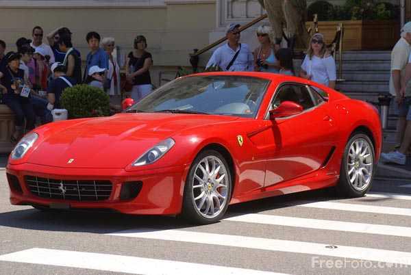 Sports cars ferrari red
