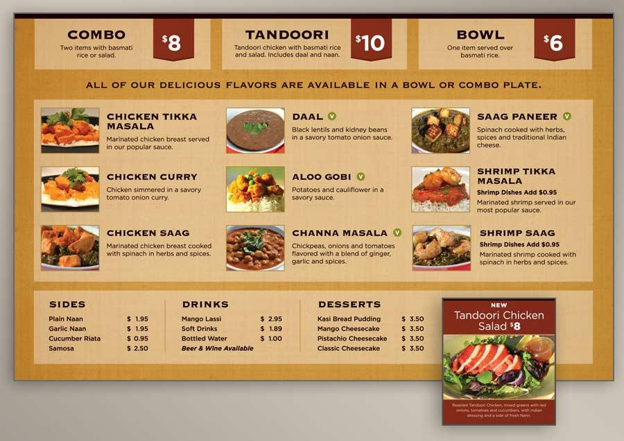 17 Design Menu Food Images - Restaurant Menu Board Design ...