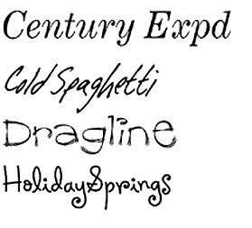 9 Premium Handwritten Fonts Images