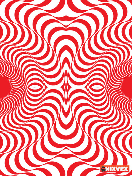 Simple Op Art Pattern