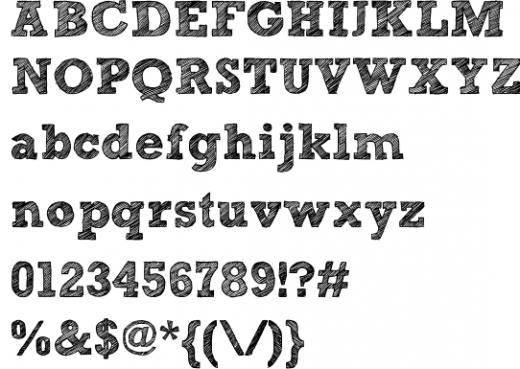 Kg broken vessels sketch font · 1001 fonts.
