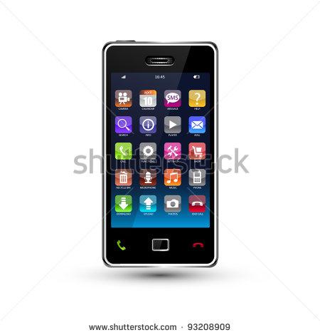 Smartphone Icon Clip Art