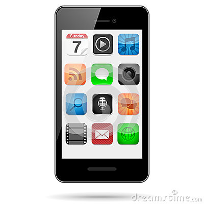 Smartphone Phone App Icon