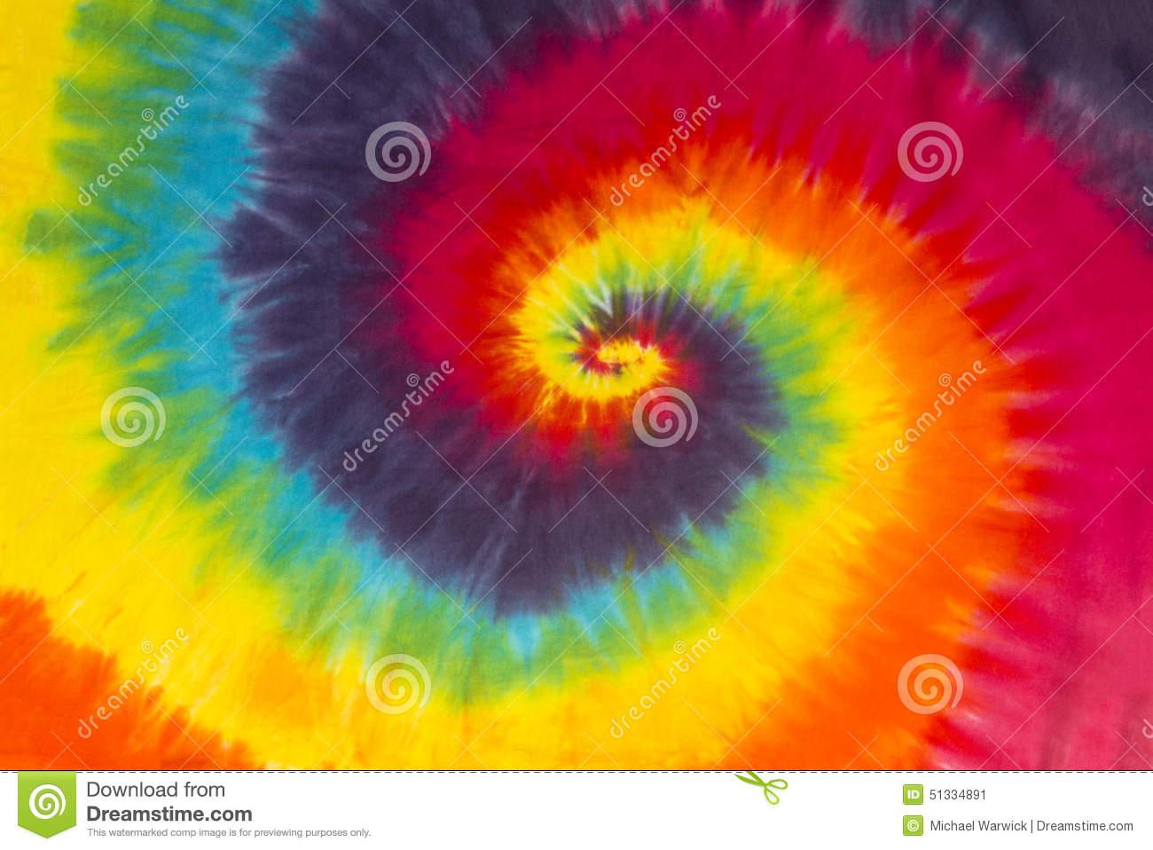 Spiral Tie Dye Patterns