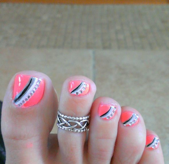 13 Nail Designs For Your Toes Images