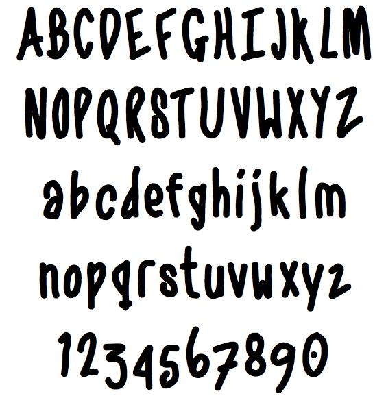 12 Trend Font Handwritten Images