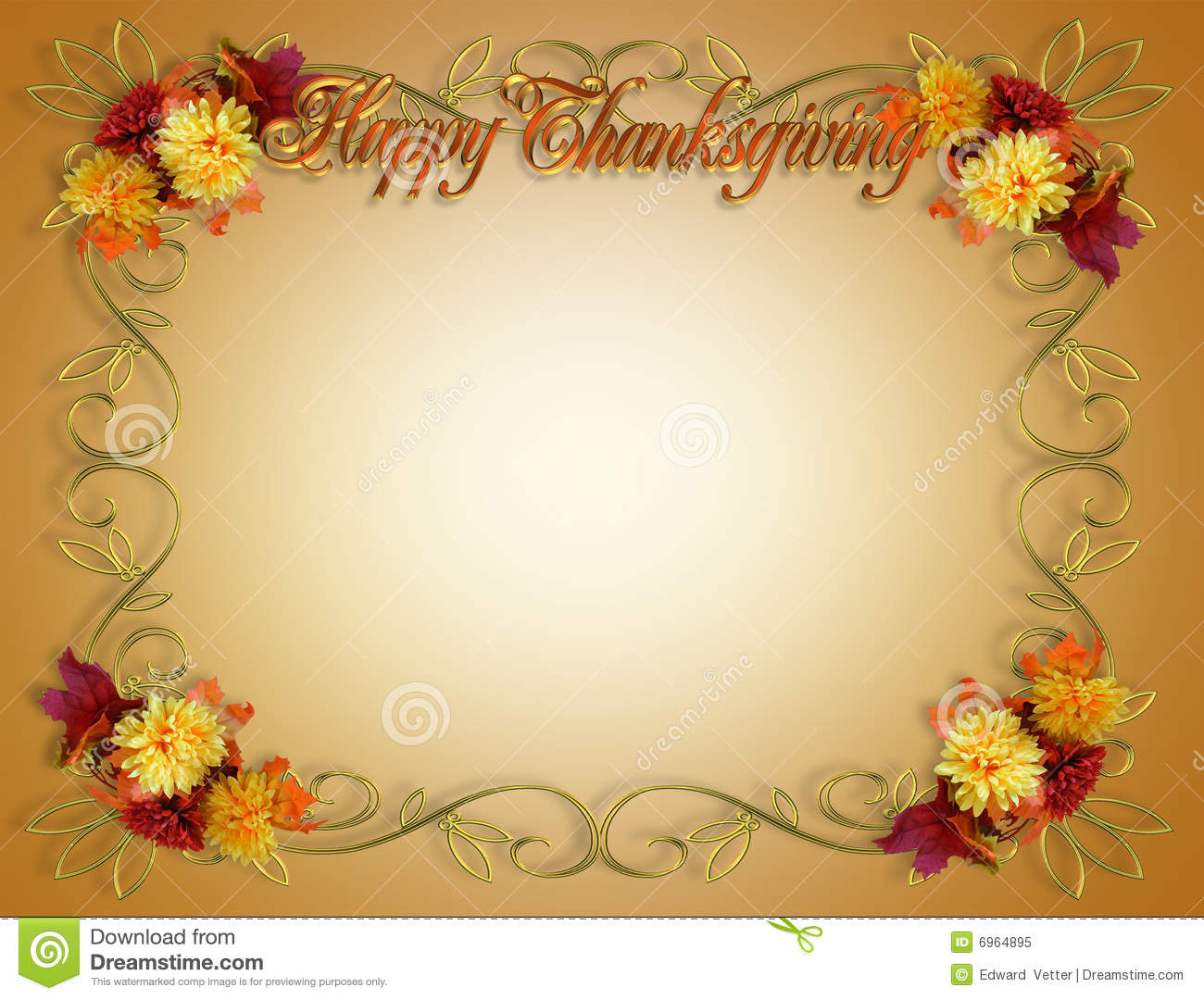 Thanksgiving Borders For Word Documents
