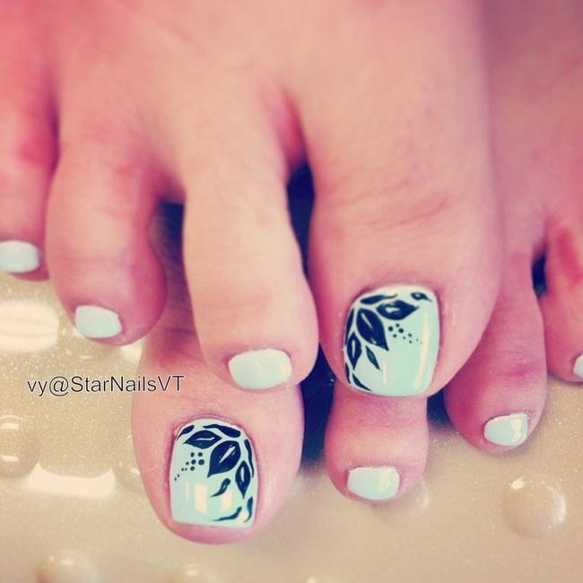 Toe Nail Designs Summer 2015. minion toe nail art designs ideas ...