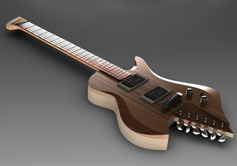 Unique Guitar Designs