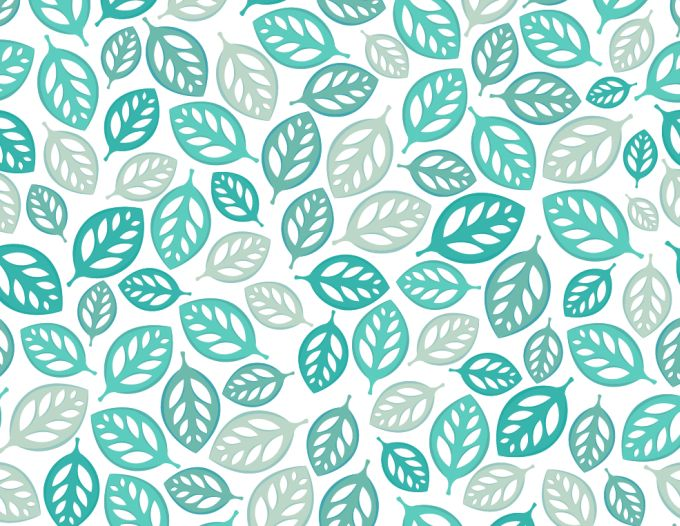 13 Vector Leaves Pattern Images