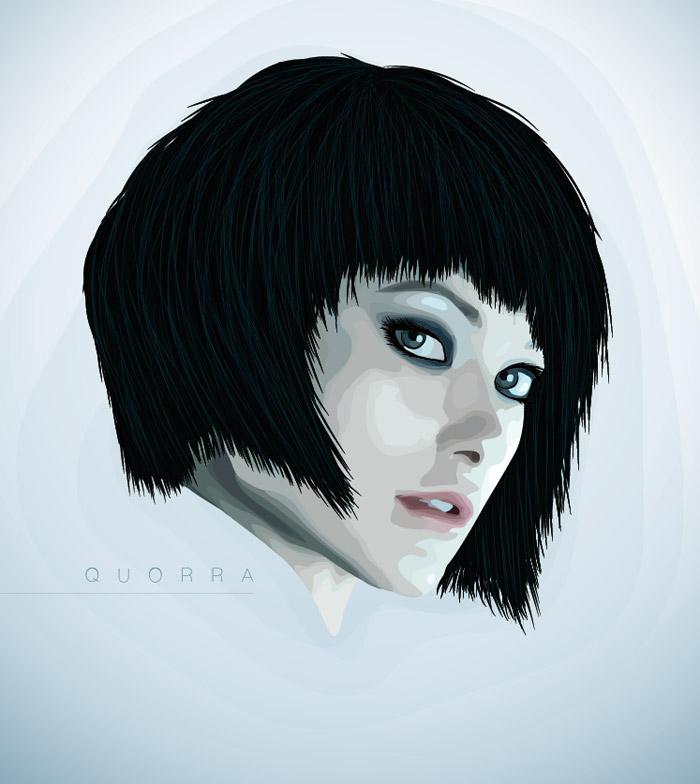 Vector Portraits Illustrator