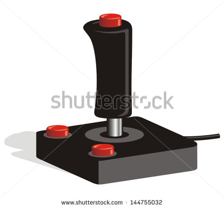 Video Game Joystick Vector