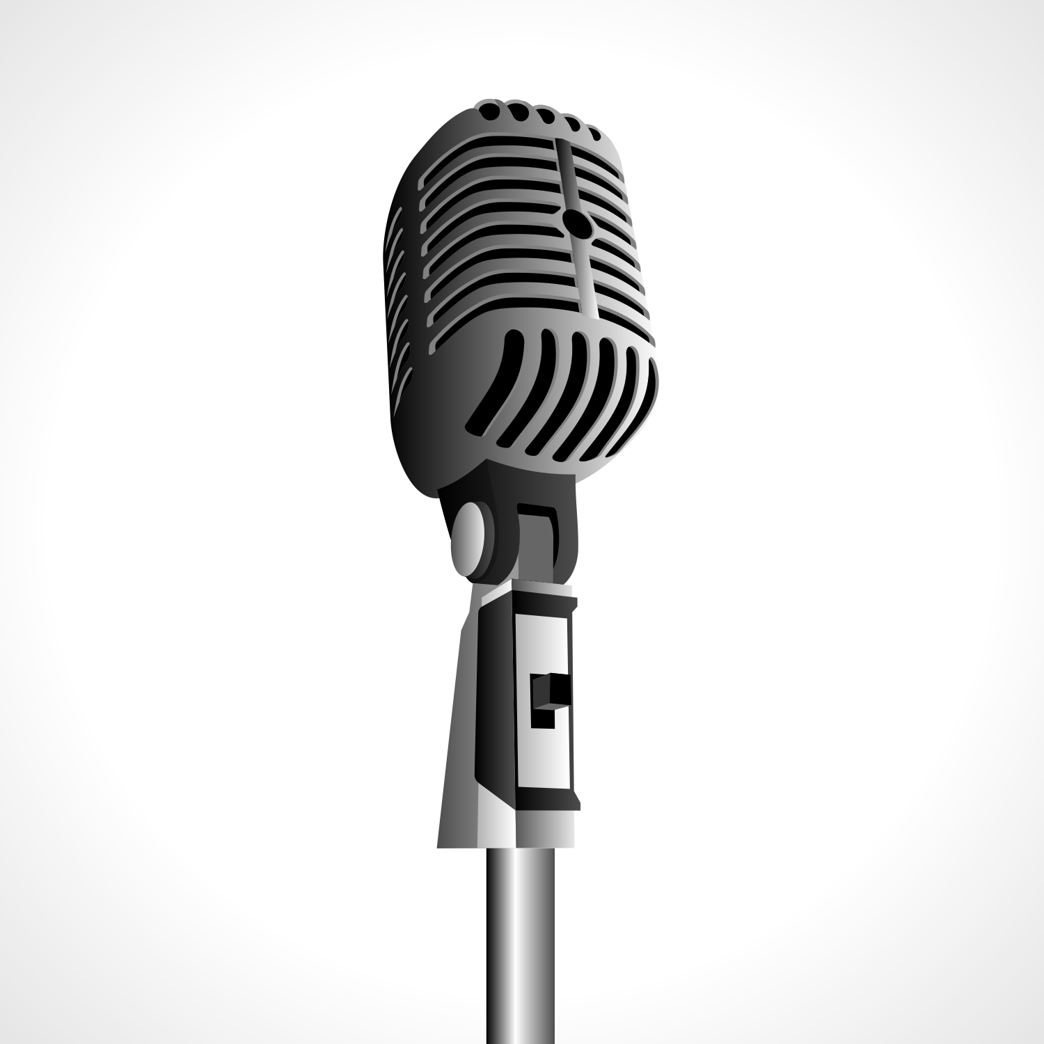 15 Microphone Vector Free Images