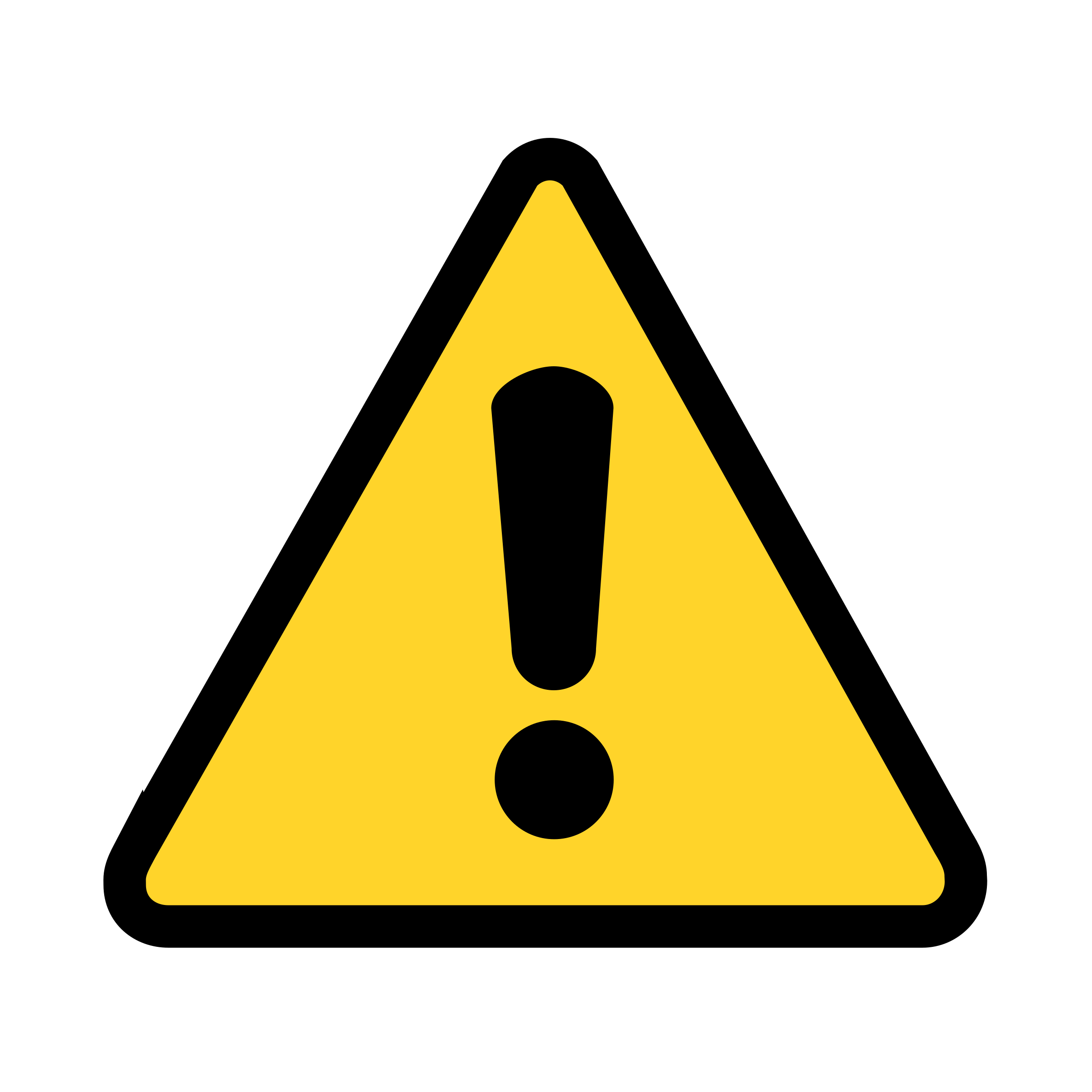 12 Warning Icon Simple Images
