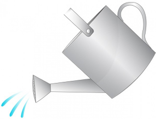 15 Cute Watering Can Vector Images