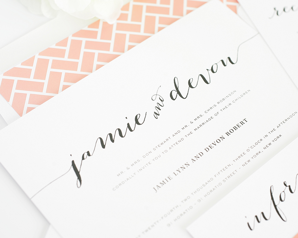 12 Popular Wedding Invitation Fonts By Name Images