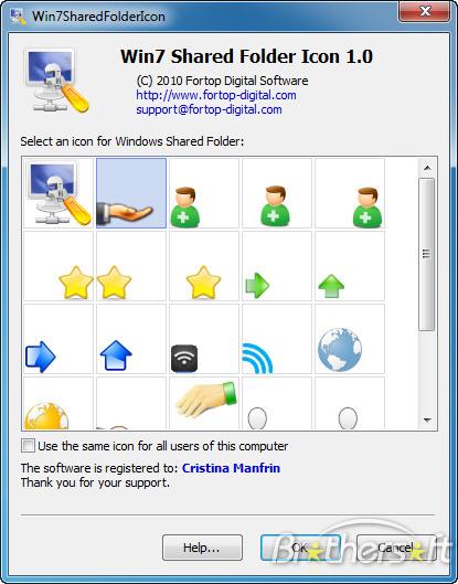 Windows Shared Folder Icon