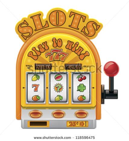 14 Slot Machine Vector Art Images
