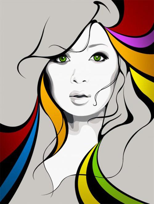 Women Vector Art