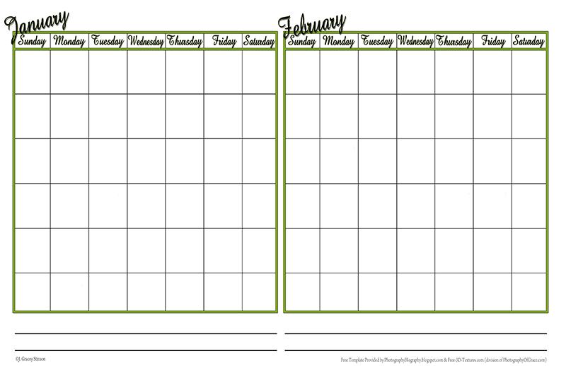 Weekly Calendar Grid : Calendar grid template images blank
