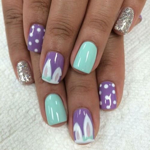 2015 Easter Nail Designs