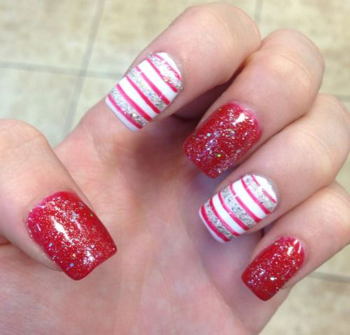 2015 Winter Gel Nail Designs