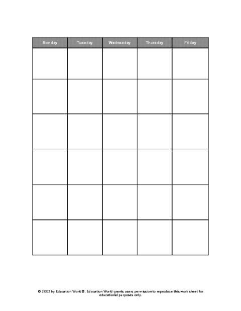15 month calendar template - 15 calendar grid template images blank calendar grid