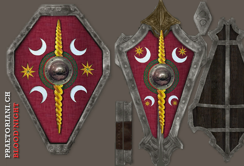 10 Roman Shield Designs Images