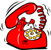 Animated Ringing Phone Clip Art