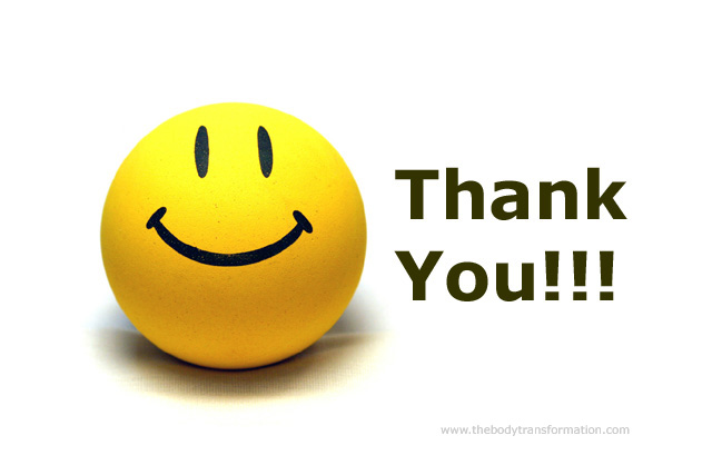 Animated Smiley Thank You Clip Art