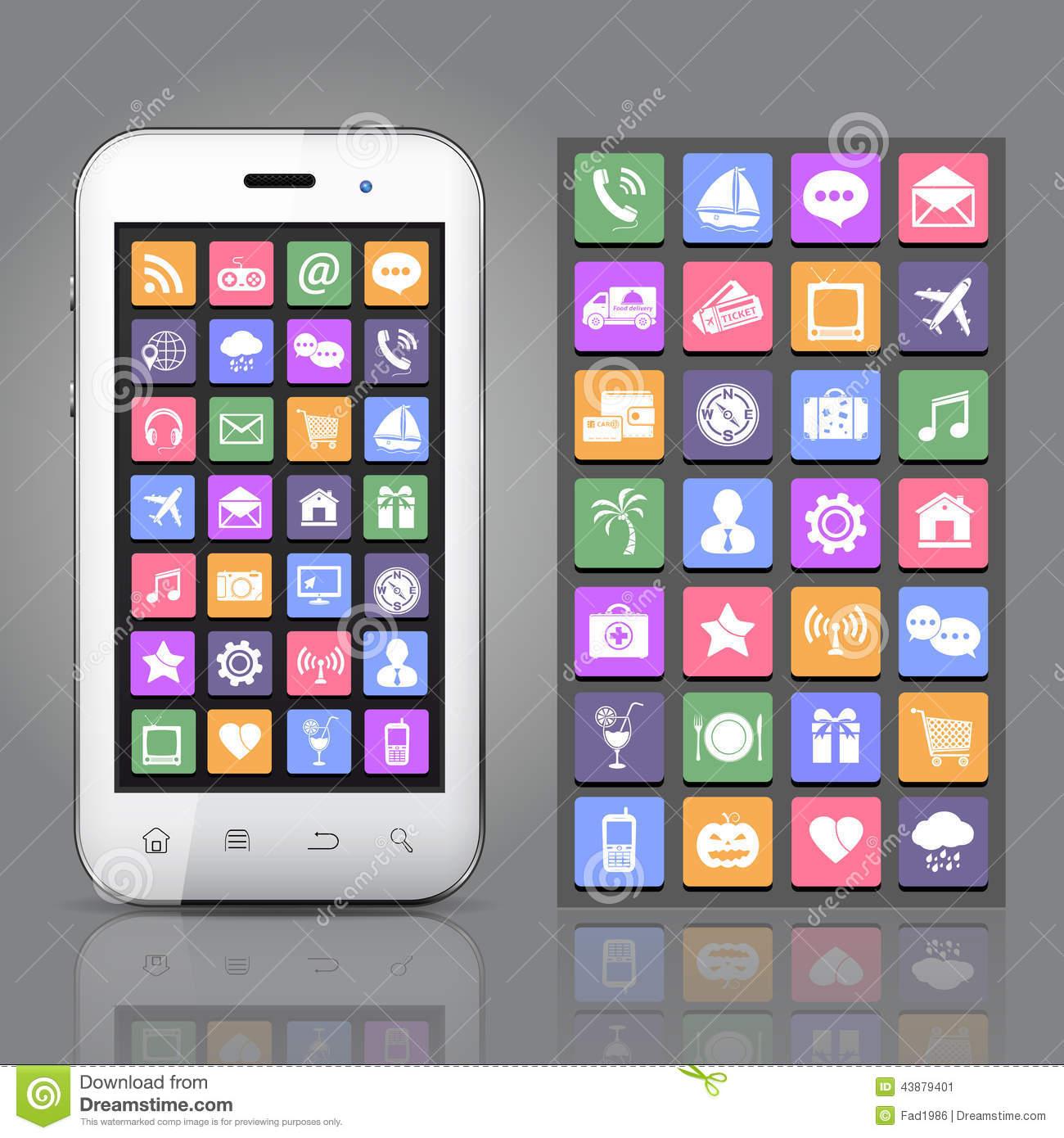 Application Smartphone App Icon