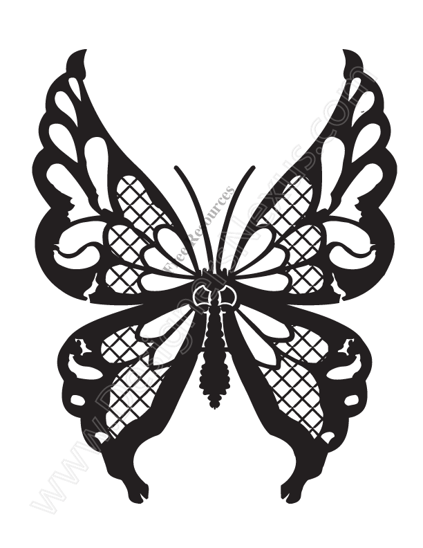 15 Free Butterfly Vector Clip Art Images