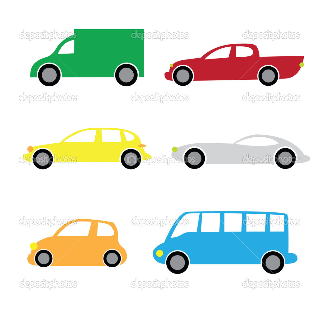 Car Cartoon Illustration
