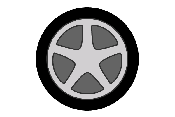13 Free Vector Wheels Images