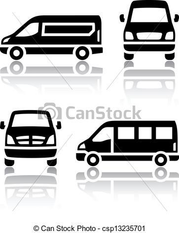 Cargo Van Clip Art