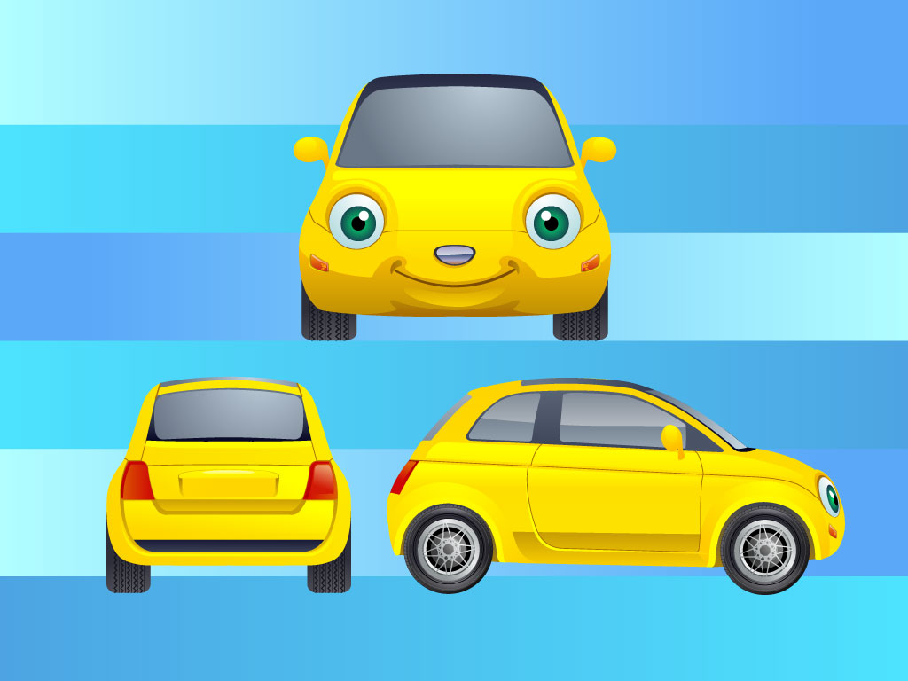 Cars Cartoon Characters