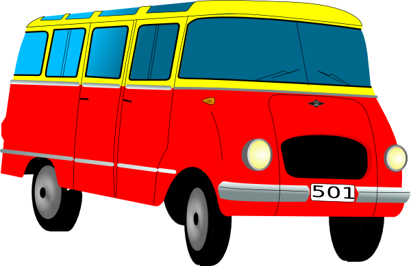 Cartoon Van Clip Art