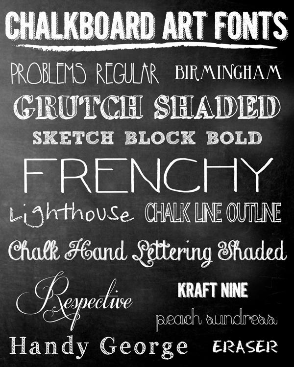 Amazoncom Chalkboard Fonts Cartridge  Cricut