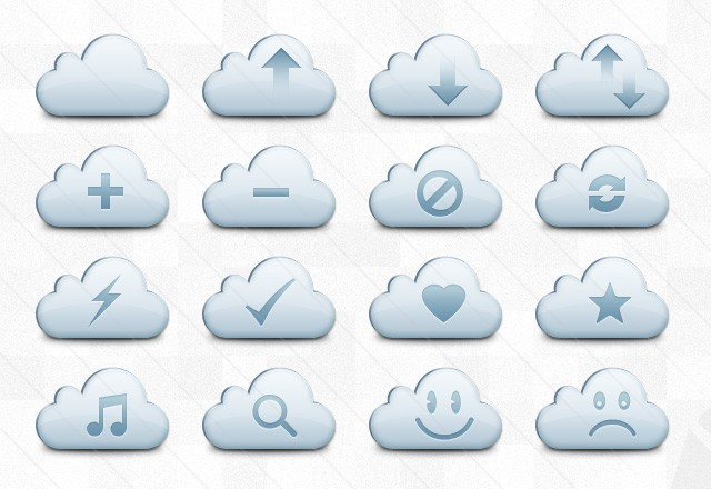 Cloud Vector Icons