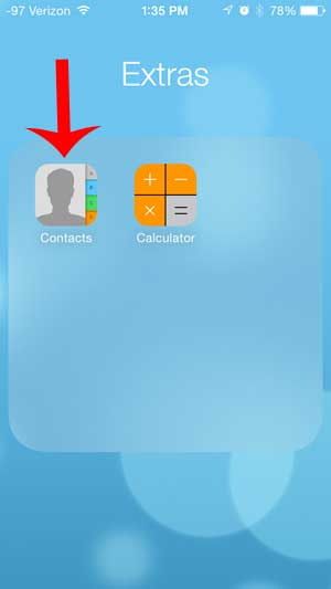 how to delete contacts on iphone 5c