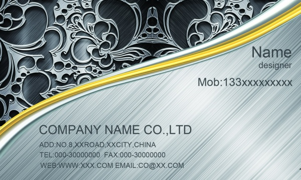 Cool Business Card Templates Free