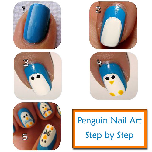 12 Easy Nail Art Designs For Beginners Step By Step Images