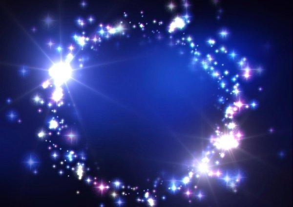 Dark Blue Background with Stars